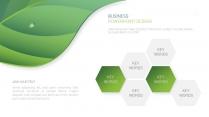 绿色自然工作报告PPT模板【160】示例6