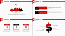 【商务大杀器】3D立体科技互联网公司企业工作PPT示例5