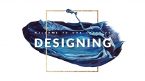【創意水彩】現代商務匯報工作總結工作計劃模板