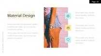 【色即是空】黄蓝清新配色时尚模板示例4