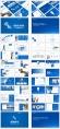 蓝色商务报告模板八套【4】示例6