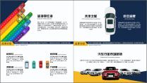 汽车运输交通行业市场销售工作汇报PPT示例3