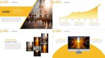 【动态】黑黄大气品牌推广策划方案汇报必备PPT模版示例6