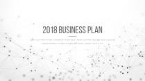 【耀你好看】点线灰白精致商业计划书6