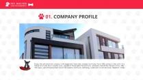 宠物养护医疗PPT模板示例3