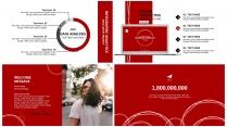 【红火】红色B极简高端大气商务报告年终汇报总结示例5