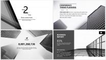 【大气黑白灰】极简高端商务报告年终汇报项目提案示例5