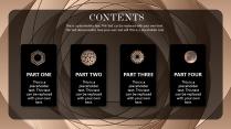 【奢华】质感金高端视觉画册级品牌多用途提案模版示例3