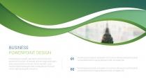 绿色自然工作报告PPT模板【160】示例3