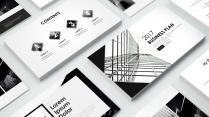 【B&W】简约建筑经典商务模板Ⅱ