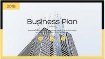 【完整框架】创意图文混排商业计划书策划书模板02