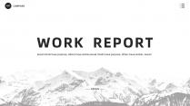「品质系列」黑白经典商务汇报模板