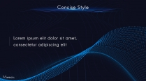 【动画PPT】蓝紫科技大气商务模板59.0示例5