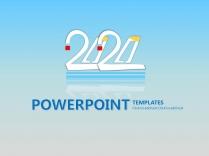 2020年初计划、年终总结PPT模板2