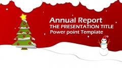 【精致好看】新年圣誕-喜慶報告-活動策劃 模板