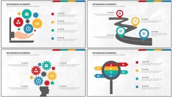 扁平可視化商務信息圖表20套【第 五期】