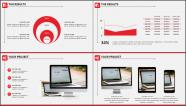 红白简约风格细致排版商业实用模板示例6
