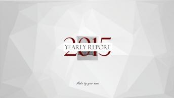 【年终大戏】酒红欧美时尚商务PPT 优雅 简洁