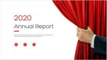 【简约商务】红色年终总结商务报告工作计划模板