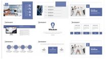 简约商务企业宣传活动策划总结汇报示例3
