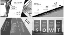 【大气黑白灰】极简高端商务报告年终汇报项目提案示例7
