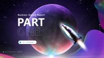 【宇宙科幻】视觉未来智慧大气创意文化展示策划模板示例4