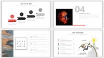 【设计感】清新简约杂志风PPT模板10示例7