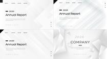 【创意几何】高端黑色总结报告工作计划模板【含四套】