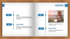 【翻书效果】新扁平可视化ppt模板9【可看视频】示例7