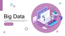 【商务大咖】大数据科技互联网公司企业工作通用PPT