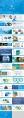 蓝色医疗科技模板示例8