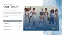 【海洋&流沙】視覺品牌干凈藍色 靜謐文化多用 示例6