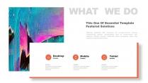【创意抽象】多彩现代商务汇报总结计划多用途模板示例4