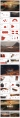 領航(水墨風)紅色PPT模板【4套合集102頁】示例3