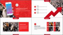 【年终利器】简约中国红公司企业工作总结汇报PPT示例6