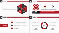 【商务大杀器】红白黑简约公司企业商务工作通用PPT示例5