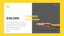 【你是真的黄】设计感商务实用多用途模板示例6