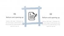 【手绘涂鸦】蓝灰色系极简创意模板2示例3