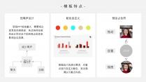 【黑白至臻】扁平极简专业商务模板示例3
