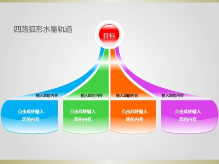 树状组织结构图模板; 电脑上wap网:【轨道ppt模板】