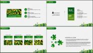 """""""绿色城市""""农业/旅游/环保PPT模板(全可编辑)示例5"""