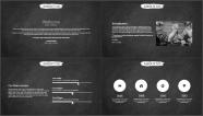 【学霸归来】创意黑板答辩&述职模板第五弹示例3