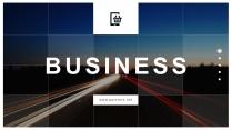 【极致视觉】大图背景公司企业工作总结汇报PPT模板