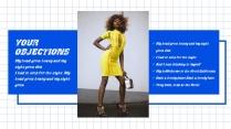 时尚扁平化商务报告示例5