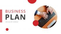 【一鍵換色】商務簡約方案解決策劃PPT模板