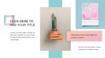 清新马卡龙时尚杂志风多用途通用模板示例4