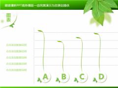 【完美演示】翠绿清新商务PPT模版示例5