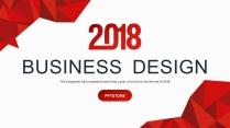 【多变】红色创意商务商业工作计划汇报PPT