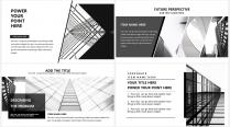 【大气黑白灰】极简高端商务报告年终汇报项目提案示例4
