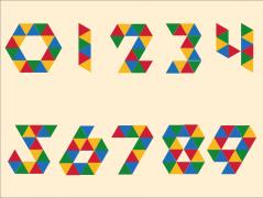 数字三角翻转动画(动画工坊03)示例1